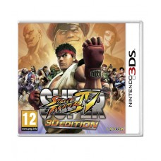 3DS Super Street Fighter 4 3D Edition