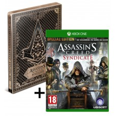XboxONE Assassins Creed SYNDICATE Special E.STEELBOOK(UNCUT) AT