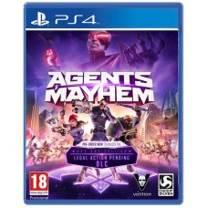 PS4 Agents of Mayhem Day One EDITION (UNCUT) AT