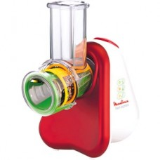 Moulinex Zerkleinerer Schnitzelwerk Fresh Express 3in1 Red Rubby DJ7535