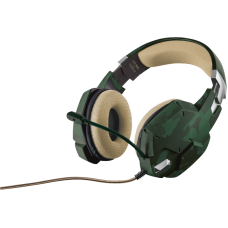 Trust GXT 322C Gaming Headset - green camouflage