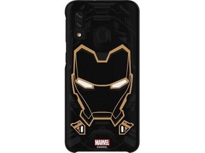 Samsung Galaxy Friends Cover Marvels Iron Man für Galaxy A40 (GP-FGA405HIBBW)