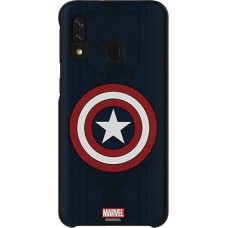 Samsung Galaxy Friends Cover Marvels Captain America für Galaxy A40 (GP-FGA405HIBLW)