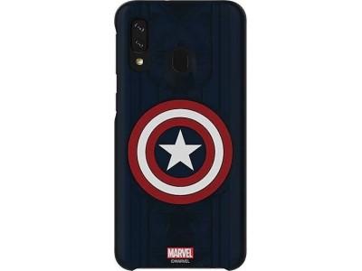 Samsung Galaxy Friends Cover Marvels Captain America für Galaxy A40 (GP-FGA405HIBLW)