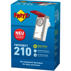 AVM FRITZ!DECT 210, Funksteckdose, multifunktional