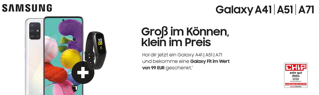 Samsung Galaxy A Sommerpromo